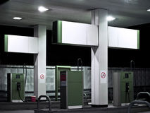 Gas station. Royalty Free Stock Images