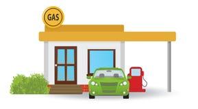 Gas Station. Illustration for you design royalty free illustration