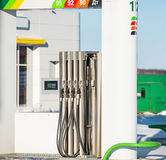 Gas station Royalty Free Stock Photo
