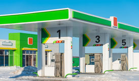 Gas station Royalty Free Stock Image