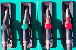 At the gas station Royalty Free Stock Images