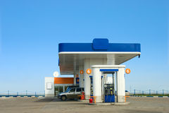 Gas station Stock Image
