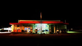 Gas Station Stock Photography