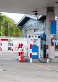 Gas station Stock Photo