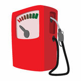 Gas station cartoon icon Royalty Free Stock Photo