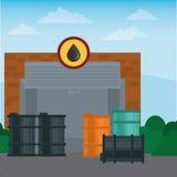 Gas Station design Stock Photos