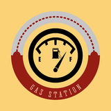 Gas Station design Stock Photography