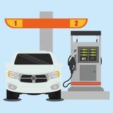 Gas Station design Stock Image