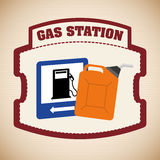 Gas Station design Stock Photo