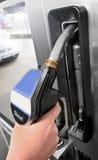 Gas station - diesel fuel. Gas pump station diesel fuel Stock Photo