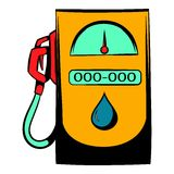 Gas station icon, icon cartoon Royalty Free Stock Photography