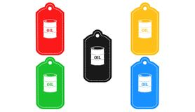 Gas station icon,sign,3D illustration Stock Image