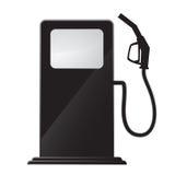 Gas station icon royalty free illustration