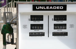 Gas Station Pump Royalty Free Stock Photos
