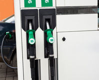 Gas station pump Royalty Free Stock Image