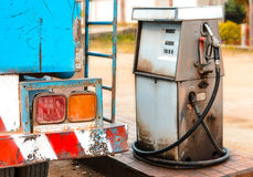 Gas station pump Royalty Free Stock Photography
