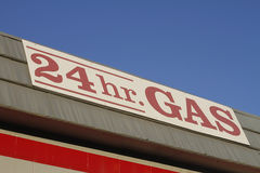 Gas Station Sign Royalty Free Stock Image