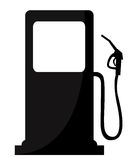 Gas Station sign. Vector illustration royalty free illustration