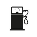 Gas station vector icon Royalty Free Stock Photos