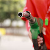 Gas Station Worker and service Royalty Free Stock Images