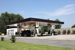 Gas station2 Royalty Free Stock Images