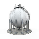 Gas Storage Refinery Royalty Free Stock Photos
