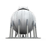 Gas Storage Refinery Royalty Free Stock Image