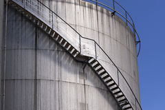 Gas storage tanks Royalty Free Stock Image