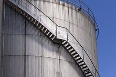 Gas storage tanks Royalty Free Stock Image
