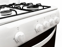 Gas stove Royalty Free Stock Images