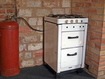 Gas stove 2 Stock Photos