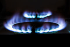 Gas stove Royalty Free Stock Photos