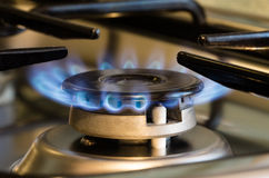 Gas stove enabled Stock Photos