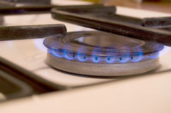 Gas stove, gas hob Royalty Free Stock Photography