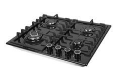 Gas stove isolated Royalty Free Stock Images