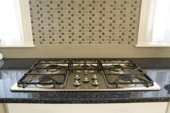 Gas Stove Top Stock Images