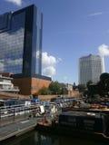 Gas-Straße Birmingham Stockbild