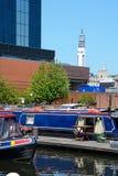Gas Street Basin, Birmingham. Stock Image