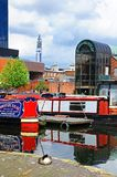 Gas Street Basin, Birmingham. Stock Photography
