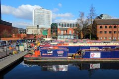Gas Street Basin, Birmingham Stock Photography