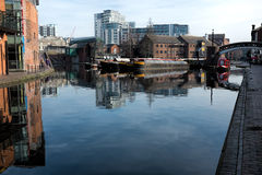 Gas Street Basin Stock Photography