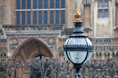 Gas street lamp Royalty Free Stock Images