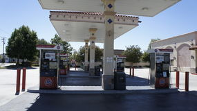 76 Gas Ststion. The Gas Station 76 is all over the country serving motorists Royalty Free Stock Images