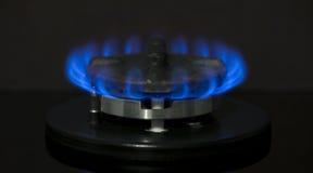 Gas-stufa Fotografia Stock