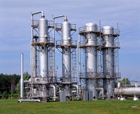 Gas Supply Stock Images