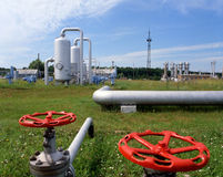 Gas Supply Royalty Free Stock Images