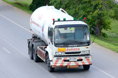 Gas supply Company Truck. Stock Photography