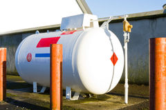 Gas tank Royalty Free Stock Images