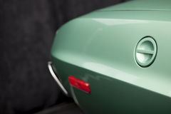 Gas tank cover closeup Royalty Free Stock Images