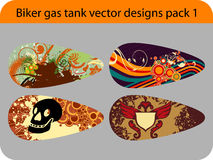 Gas tank design Royalty Free Stock Photo